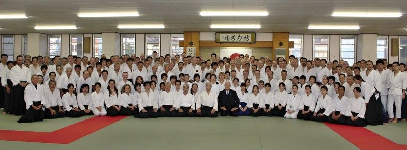 International Aikido seminar in Takaoka Budokan